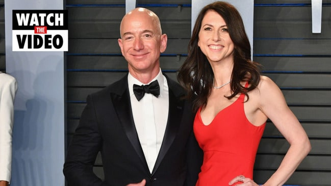Amazon CEO Jeff Bezos splits with wife after 25 years of marriage