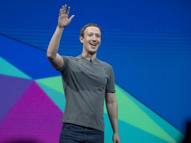 Mark Zuckerberg would have struggled to grow Facebook as quickly as he has from Australia. Photographer: David Paul Morris/Bloomberg via Getty Images