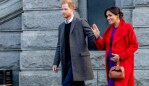Meghan is now heavily pregnant. Source: Getty Images