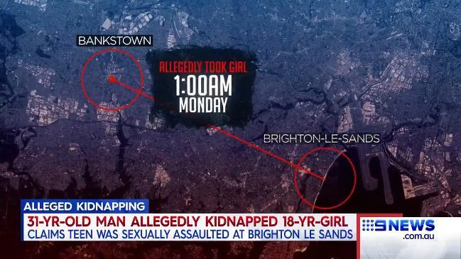 Nine News: Sydney teen kidnapped and sexually assaulted