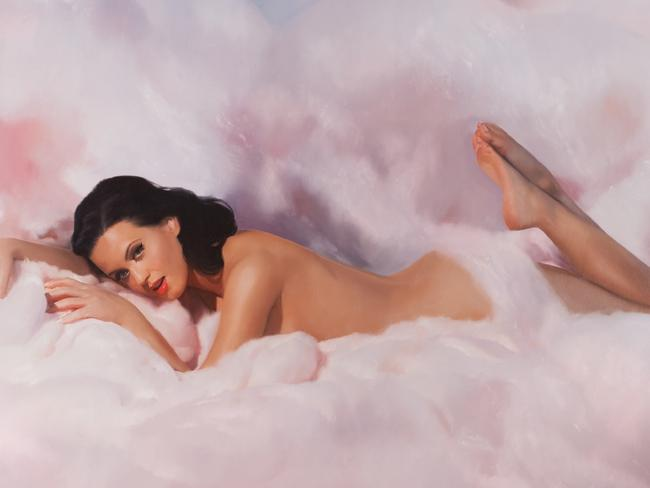 Katy Perry's Teenage Dream CD cover image. Picture: Supplied