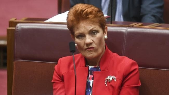 The three One Nation senators appear set to vote in favour of the cuts.