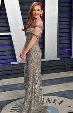 Isla Fisher attends the 2019 Vanity Fair Oscar Party hosted by Radhika Jones at Wallis Annenberg Center for the Performing Arts on February 24, 2019 in Beverly Hills, California. (Photo by Dia Dipasupil/Getty Images)