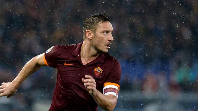 Francesco Totti and Roma will play in Melbourne next year.