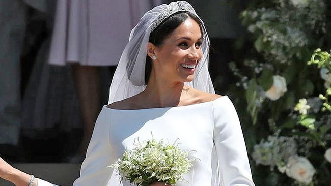 Was Meghan asked to wear her hair back? Photo: REX/Shutterstock