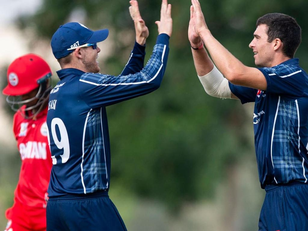 Scotland beat Oman by 10 wickets