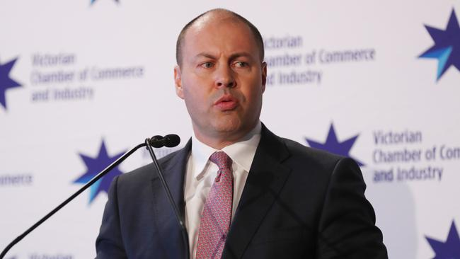 Federal Treasurer Josh Frydenberg has vowed to shake up the banking industry. Picture: David Crosling/AAP Image