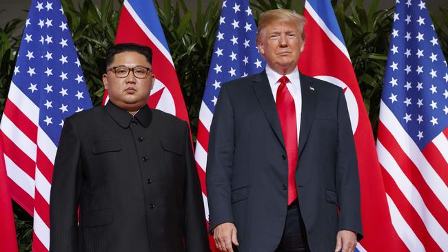 There are concerns Kim Jong-un isn't dismantling his nuclear arsenal as promised in the June Singapore summit with Donald Trump.