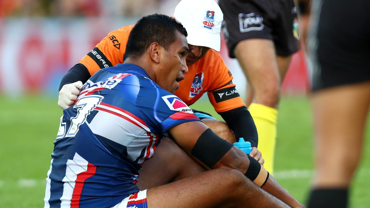 Jacob Saifiti battled with injury in 2018.