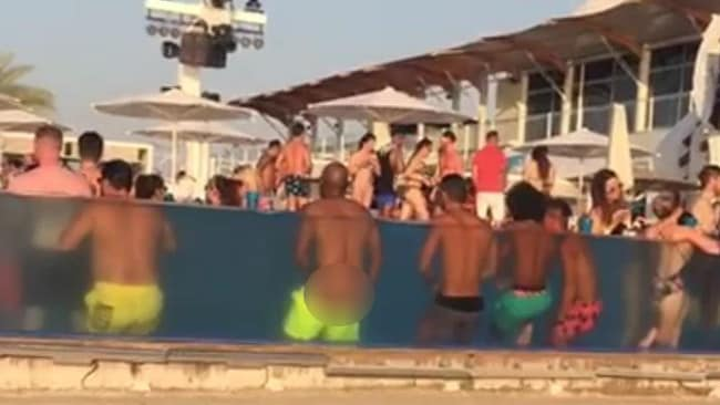 Man Performs Sex Act In Front Of Kids In Public Dubai Hotel Pool-6618
