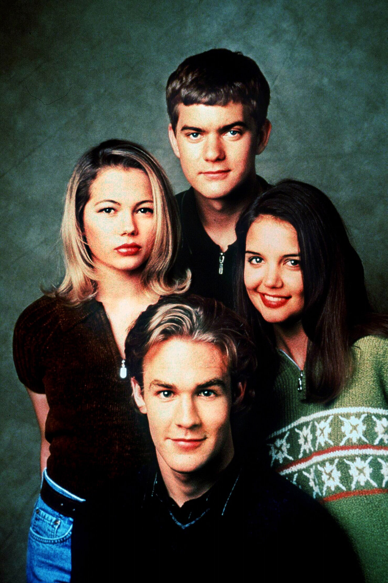 The Dawson's Creek cast just reunited and it feels like 1998 again