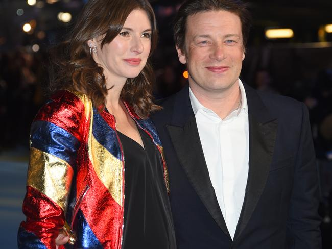 Chef ... Jamie Oliver, who is soon to become a father for the fifth time, revealed last week that he is intending to launch a campaign to get more women breastfeeding. Picture: AP.