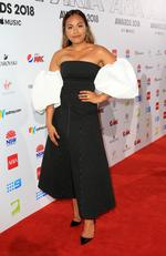 Jessica Mauboy at the 2018 ARIA Awards Red Carpet held at The Star in Pyrmont. Picture: Christian Gilles