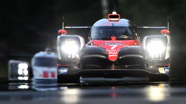 Kamui Kobayashi set the fastest ever pole lap for the Le Mans 24 Hours.