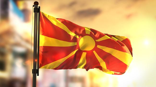 Macedonia Fyrom Skopje The Country In Search Of A Name