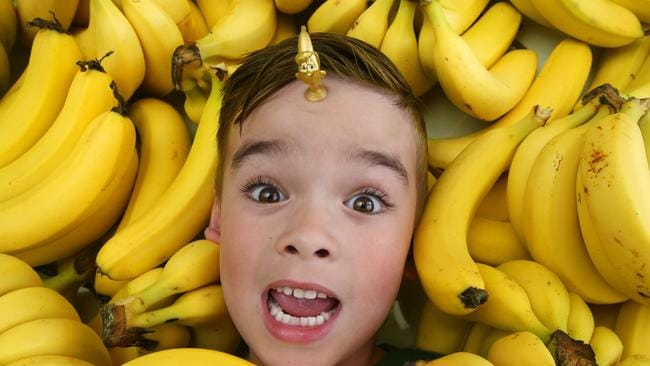 Kids are going bananas to find the special golden toy in the Coles Stikeez collection.