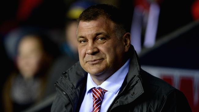 Legendary Wigan coach Shaun Wane. Picture: Getty