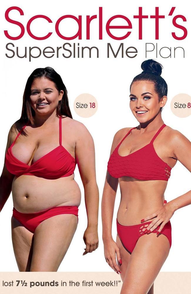 Scarlett Moffatt weight loss plan. Picture:  <i>The Sun</i>