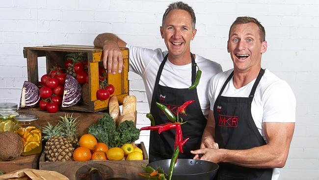 My Kitchen Rules. Paul and Blair.