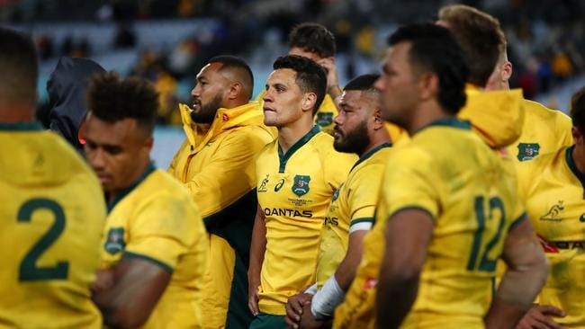 The Wallabies have come under fire again for their fitness levels. Picture: Getty.