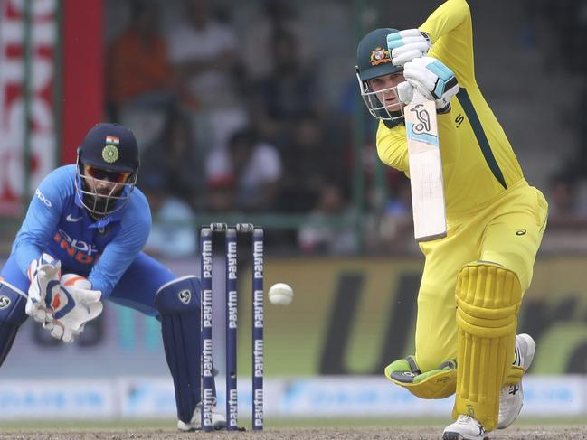 Peter Handscomb was a standout for the Aussies.