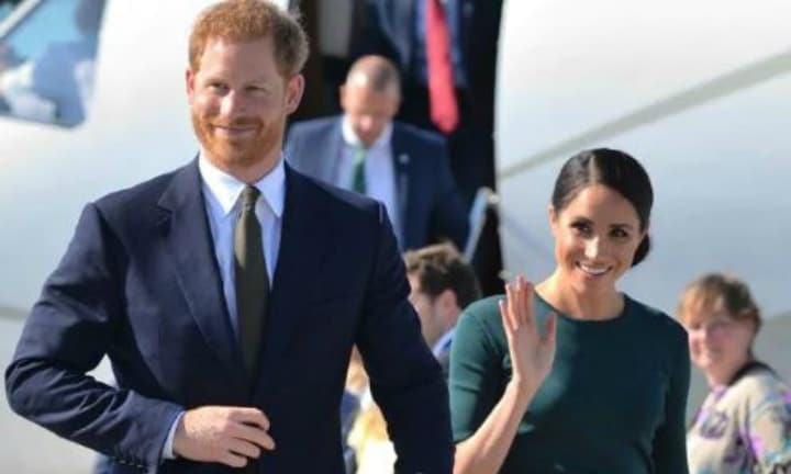 The Duke and Duchess of Sussex will touch down in Australia in two weeks' time, but there is a mystery gap of three days in their schedule. Picture: Dominic LipinskiSource:Getty Images