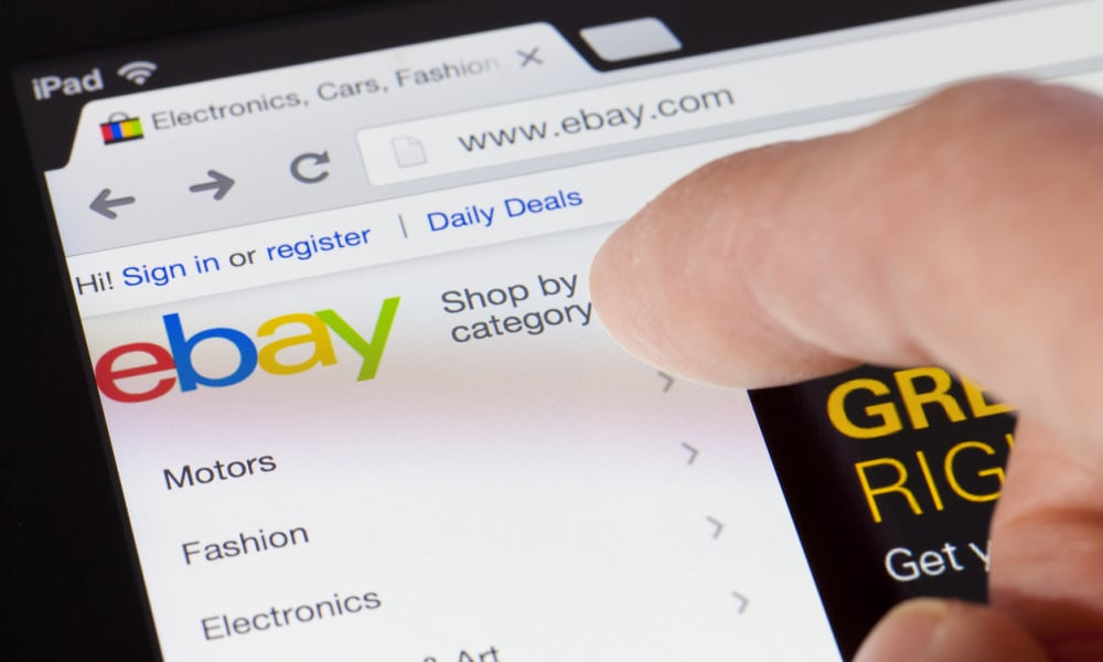 Now you can get free delivery and returns on eBay purchases