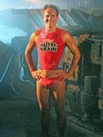 Dean Mercer the ironman. Photos Courtesy Harvie Allison