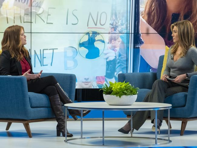Jennifer Aniston has returned to TV, alongside Reese Witherspoon, in the new TV show, The Morning Show. Picture: Supplied