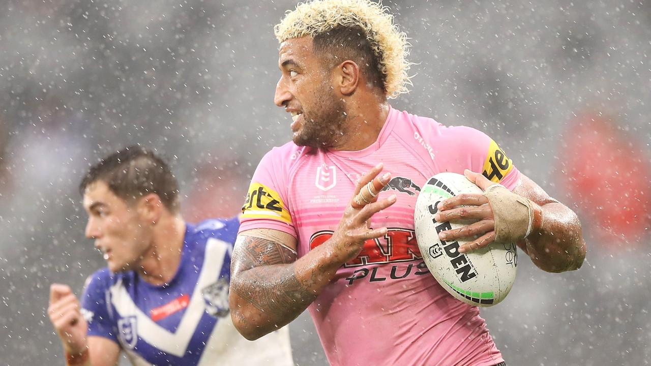 Penrith's Viliame Kikau says he's love to play State of Origin (Photo by Mark Kolbe/Getty Images)