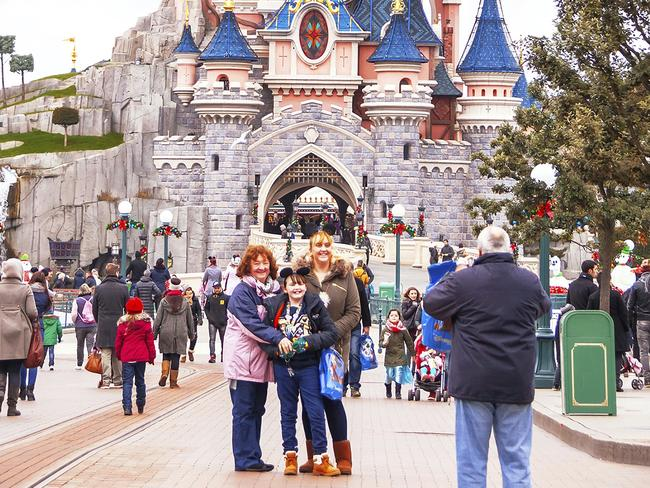 There's a special name for unpleasant guests at Disney theme parks. Picture: Supplied