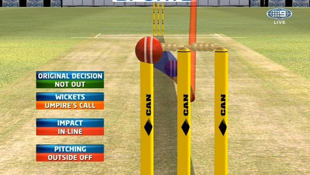 Drs Cricket Umpire S Call Icc Cricket Rules Australia V
