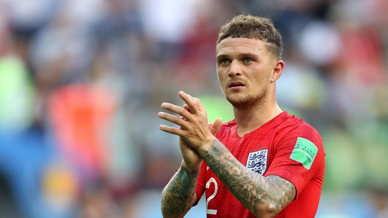 Trippier's performances for Tottenham and England have landed him on Napoli's radar