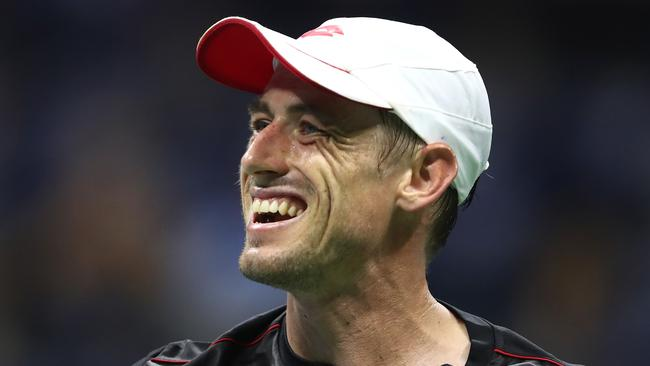 John Millman found the conditions to his liking. Picture: Getty.