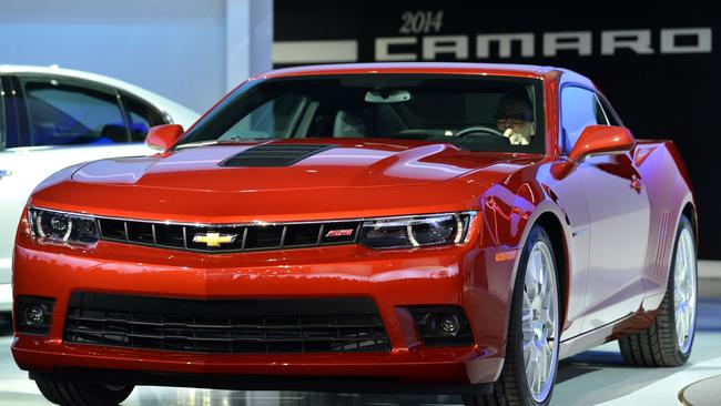 Ignition problems ... GM has recalled more than 500,000 Chevrolet Camaros in the US. Picture: Stan Honda
