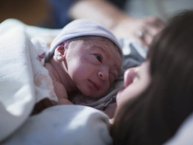 More women are turning to giving birth at home than going to a hospital.