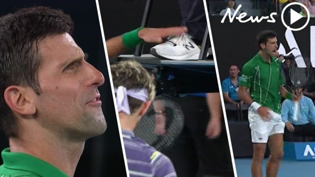 Australian Open: Novak Djokovic's epic tantrum rocks grand final