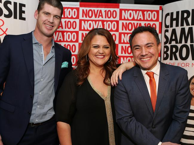 After a solid year in ratings NOVA 100's Chrissie, Sam and Browny will be taking a break over summer. Picture: Julie Kiriacoudis