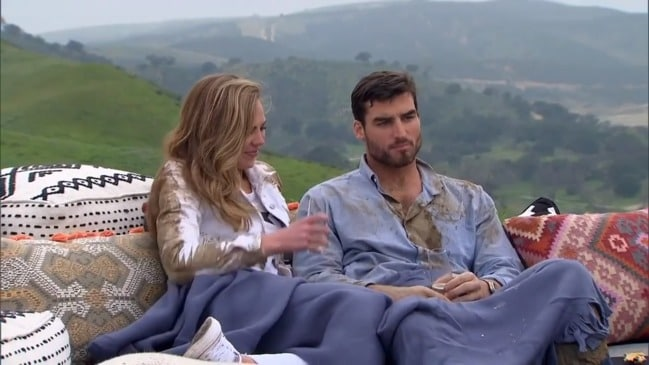 Tyler Gwozdz appearing on the 2019 season of the US Bachelorette (ABC)