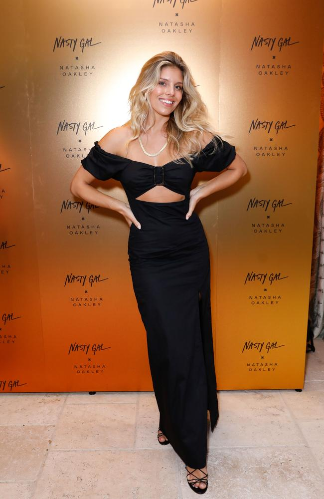 The Australian model has launched a new collaboration with fashion chain, Nasty Gal. Picture: Getty Images for Nasty Gal