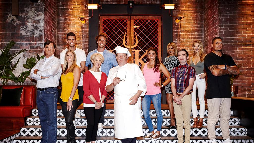 David Oldfield Dishes On His Hell S Kitchen Co Stars Ahead