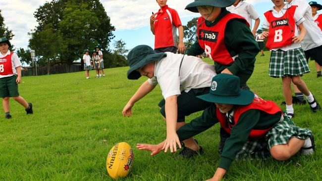 One expert believes children under the age of 18 should not be playing contact sports.