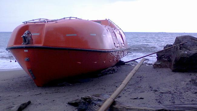Inside the asylum-seeker lifeboats