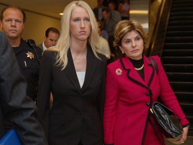 The other woman … Amber Frey. Picture: AP Photo/ Paul Sakuma