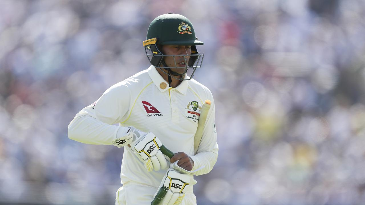 Usman Khawaja has been axed from Australia's XI to make way for the returning Steve Smith.