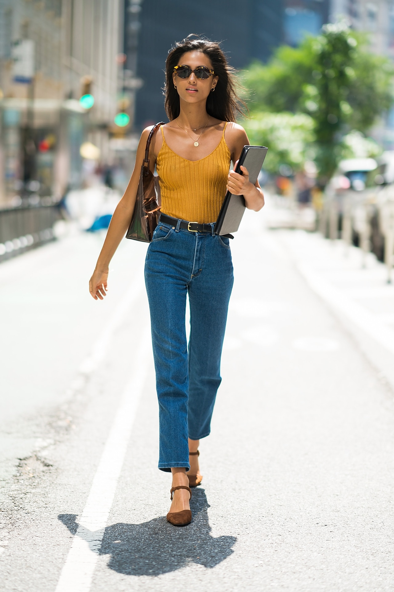 See the best model-off-duty street style looks from the 2018 Victoria's Secret castings