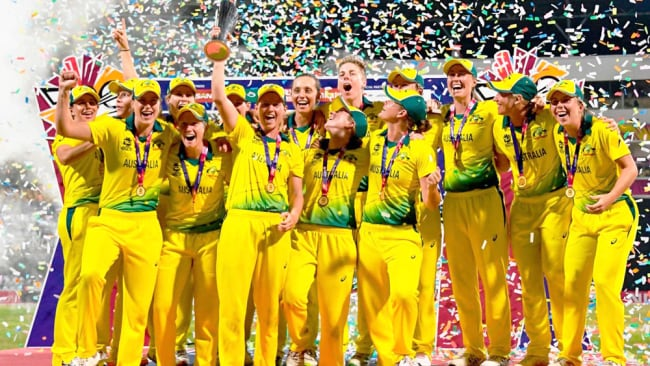 Women's sport is changing but there is a long way to go. Image: Cricket Australia.