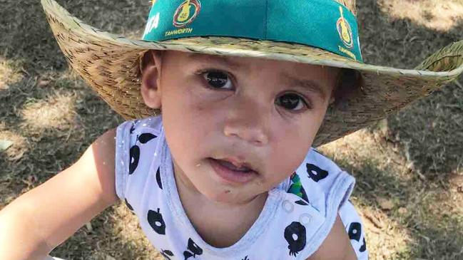 Jone Radaniva from Chester Hill was just shy of his second birthday. Picture: GoFundMe
