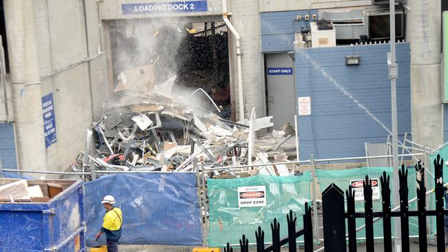 Many residents said the state government's $729 million demolition and rebuilding of Moore Park's Allianz Stadium has left them frustrated. Picture: Jeremy Piper