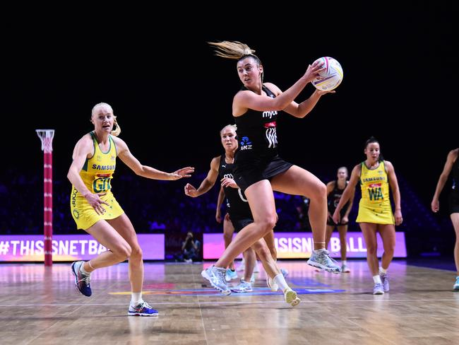 Laura Langman: The most formidable centre of all-time. (Photo by Nathan Stirk/Getty Images)